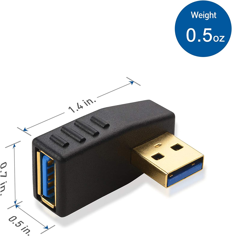 Cable Matters C/âble de Transfert de donn/ées USB 3.0 PC vers PC pour Ordinateur Windows et Mac en 2m