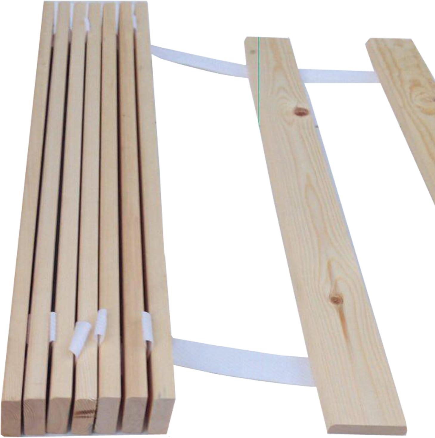Cama de listones – Repuesto de madera somier disponibles 4 todos los tamaños con entrega gratuita, madera, 5FT Kingsize=2x76cm