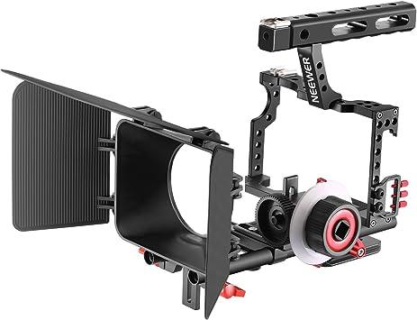 Carril varilla de 15mm para Canon Nikon Sony cámara videocámara 100mm Accesorio de foto
