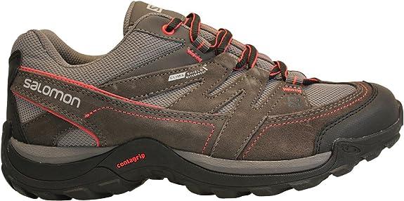 Zapatillas Salomon Malaga CS WP Zapatillas de senderismo de Mujer - gris-rose, 39 1/3: Amazon.es: Deportes y aire libre