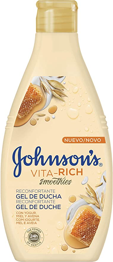 Johnsons - Vita-Rich Gel de Ducha Reconfortante, 3 x 750 ml ...