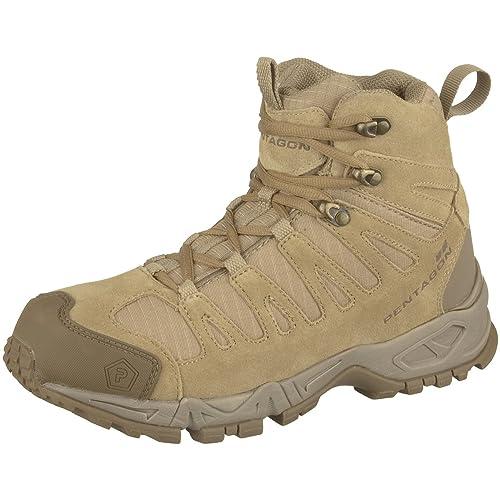 Pentagon Men's Boots brown Coyote brown Size: 2 UK
