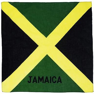 Amazon.com: Bandera de Jamaica – Bandana Docena: Clothing