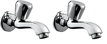 Hindware F330011Cp Contessa Plus Long Body Foam Flow Bib Tap   (Chrome)