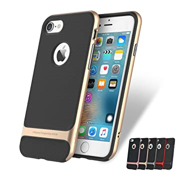 quality design 0007f 7acd1 iPhone 8 & 7 Case -ROCK Royce Ultra Slim Hybrid Shockproof iPhone 8 & 7  Case Cover - Gold