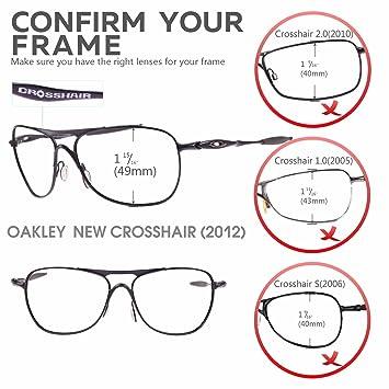 Amazon.com: walleva Lentes de repuesto para Oakley Nueva ...