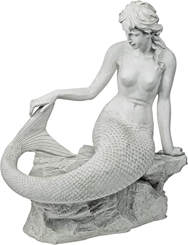 Design Toscano Daydreaming Mermaid of Langeline Cove Coastal Decor Garden Statue