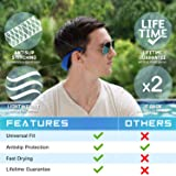 Sunglasses and Glasses Safety Strap - 2 Pack