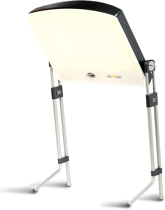 SAD Lichttherapie-Lampe Tragbare Sonnenlichtlampe Daylight Leuchten 10000 Lux Touch Control LED Light Box Nat/ürliche Sensitive 3 Einstellbare Helligkeit UV Free LED-Spektrum Fauay