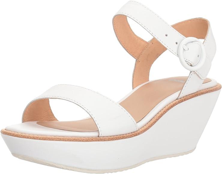 921574f23360 Women s Damas 21923 Platform Pump. Camper Damas 21923-037 Sandals Women  White