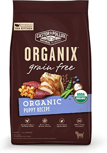 Castor Pollux Organix Grain Free Organic Puppy Dry Dog Food