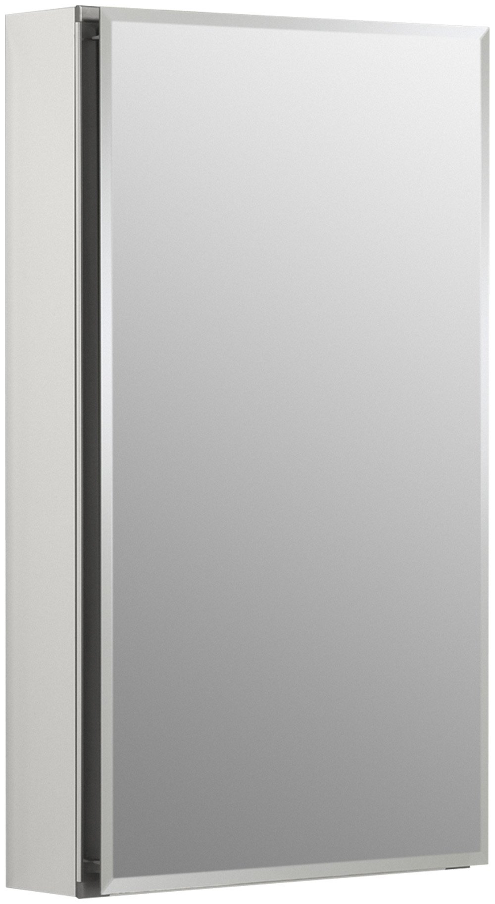 KOHLER K-CB-CLC1526FS Frameless 15 inch x 26 inch Aluminum Bathroom Medicine Cabinet; ; Recess or Surface Mount by Kohler