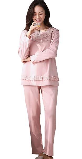 COCO Clothing - Pijama - para mujer Rosa XL