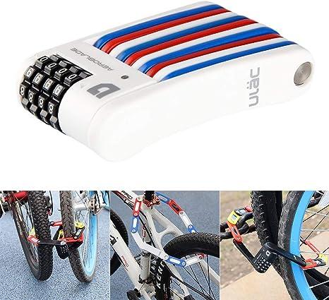 TriLance - Candado antirrobo para bicicleta y moto plegable con ...
