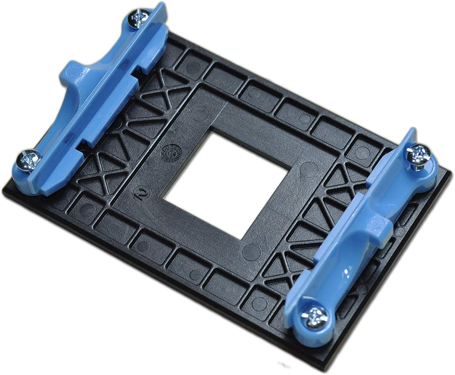 AM4 Retention Bracket & AM4 Back Plate (for AM4's Heat Sink Cooling Fan Mounting) -Blue
