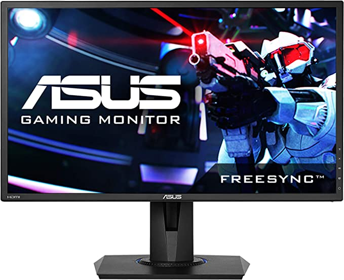 Amazon Com Asus Vg245h 24 Inchfull Hd 1080p 1ms Dual Hdmi Eye Care Console Gaming Monitor With Freesync Adaptive Sync Black 24 Inch Computers Accessories
