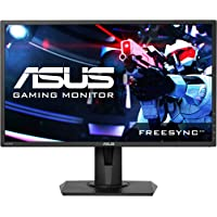 "ASUS VG245H Gaming Monitor 24"", FreeSync, Full HD, 1080p, 1ms Rapid Response Time, Dual HDMI, Low Blue Light, Flicker Free Display with Pivot, Tilt and Swivel, EyeCare, 75Hz"