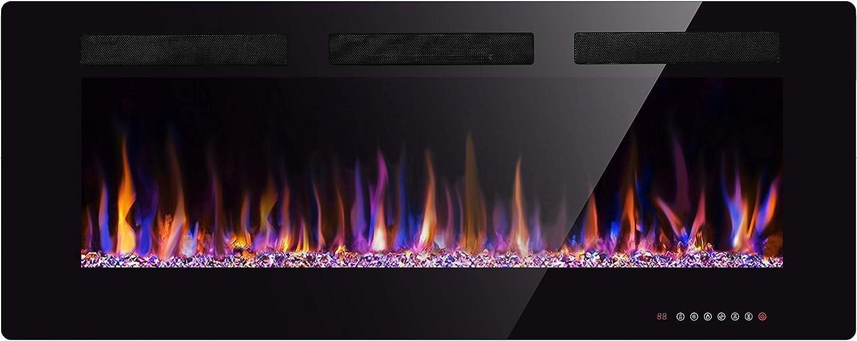 XBEAUTY 42″ Wall Mount Electric Fireplace