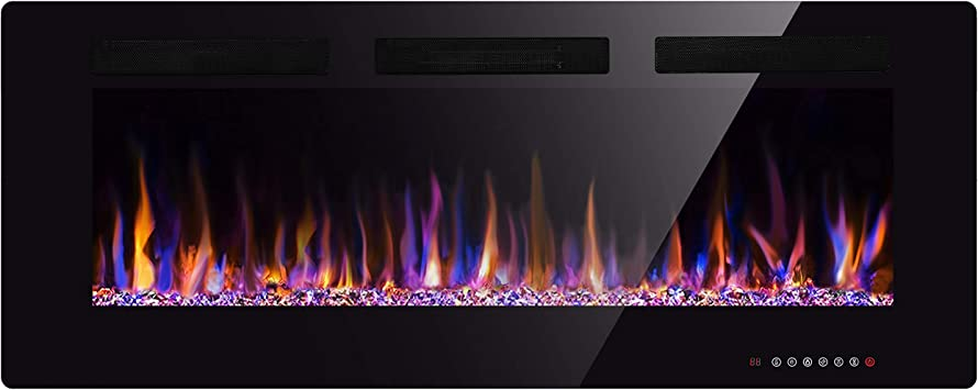 Amazon Com Xbeauty 50 Electric Fireplace In Wall Recessed And