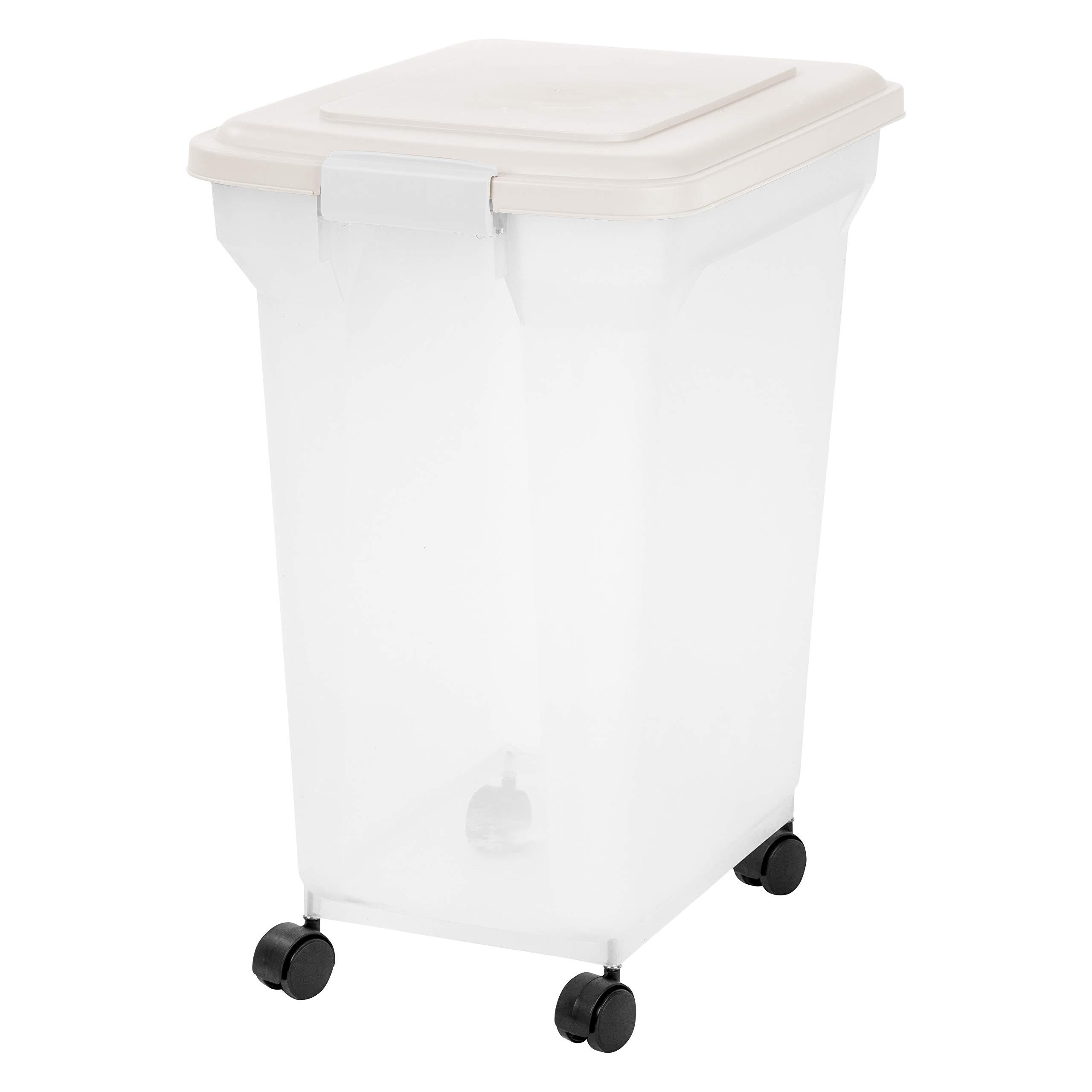 Inspired Essentials 55 Qt Plastic Airtight Pet Food Storage Container