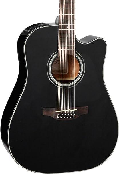 b28aa04515e3 Takamine G Series GD30CE-12 Dreadnought - Guitarra electroacústica de 12  cuerdas, negro