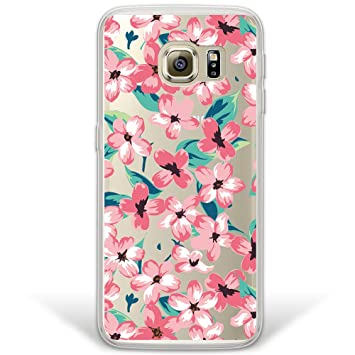 WoowCase Funda Samsung Galaxy S6 Edge Plus, [Hybrid] Flores ...