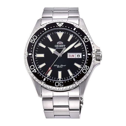 Orient Reloj Analógico para Hombre de Automático con Correa en Acero Inoxidable RA-AA0001B19B: Amazon.es: Relojes
