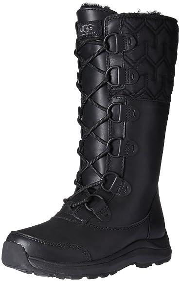UGG Women's Atlason Snow Boot, Black, ...