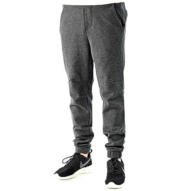 Jordan Mens AJ Knit City Pants M 30 Black Heather/Black/Black