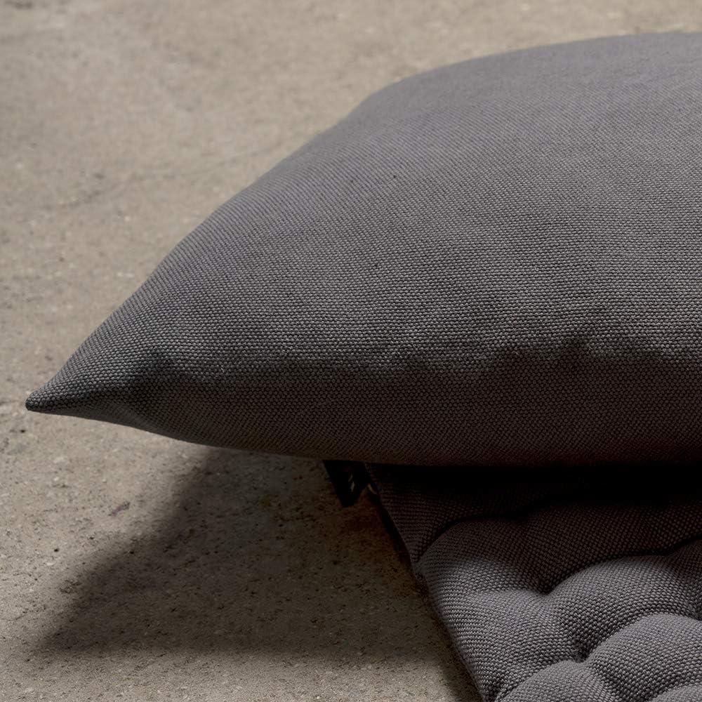 Linum Funda de coj/ín Pepper 40 x 40 cm Altrosa algod/ón