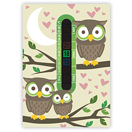 Baby and Childrens Jungle Room Thermometers A6 Nursery