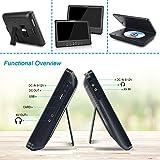 FANGOR 10.5 Dual DVD Player for Car Portable