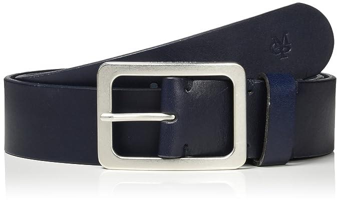 7ca451331fb2 Marc O Polo Damen Gürtel Belt, Blau (Night Blue Silver 876)