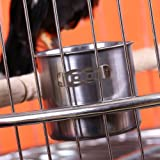 Coco*Store Stainless Steel Hook On Cage Crate