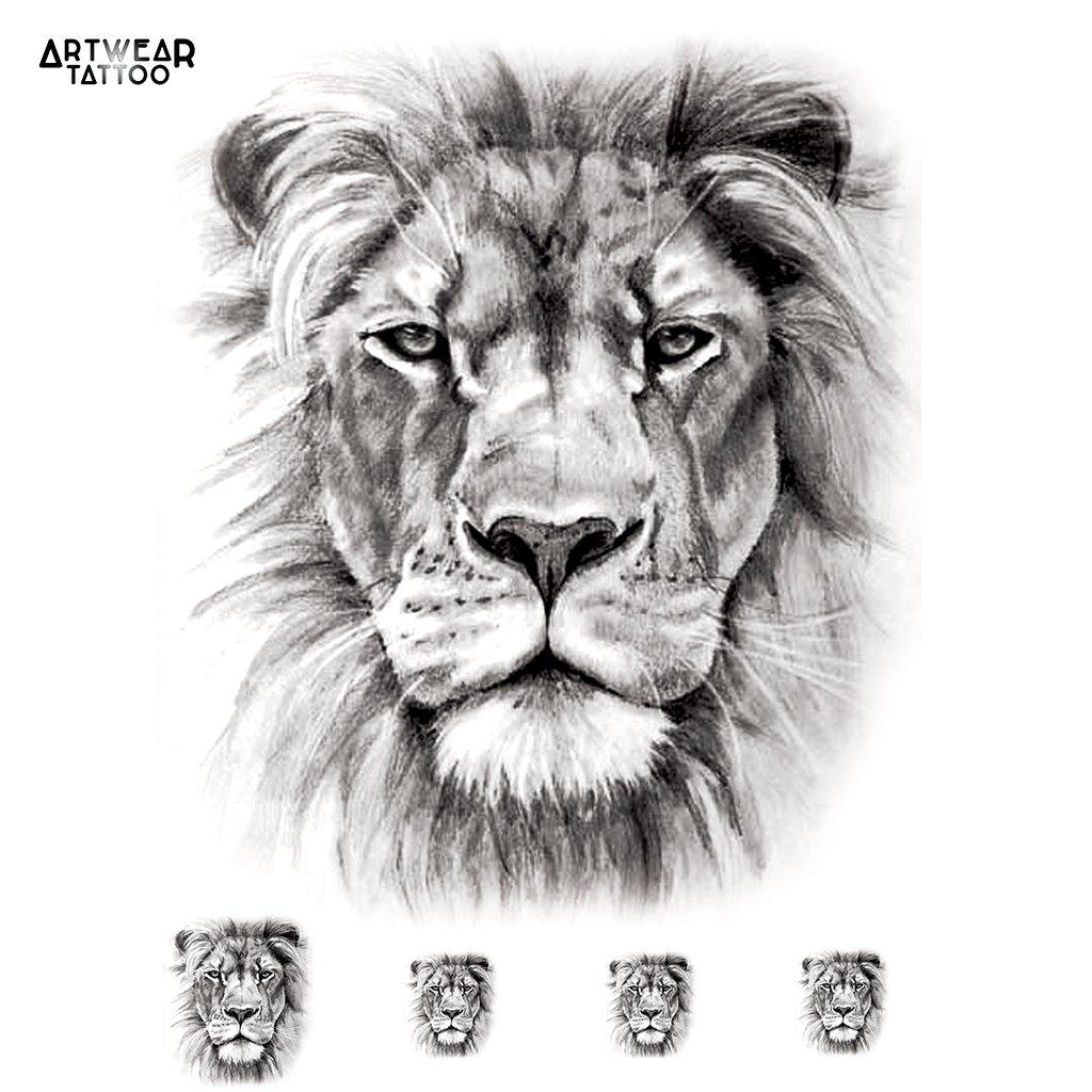 Tattoos Mit Lowe Oder Lowin Vorlagen Fur Deine Tatowierung 13