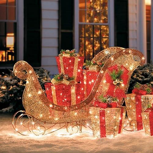 Christmas Sleighs: Amazon.com