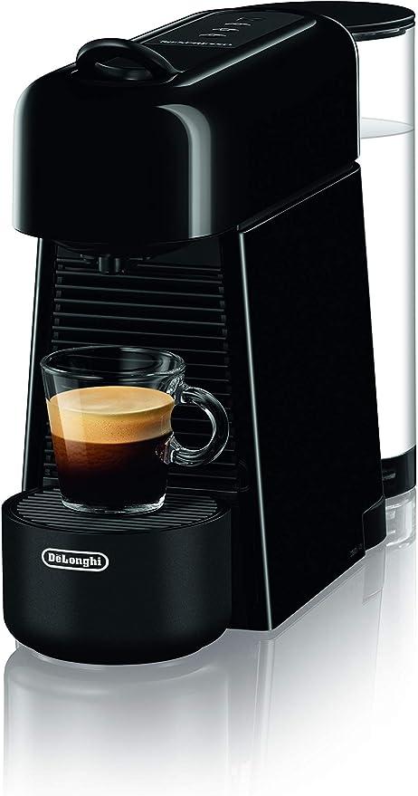 DeLonghi EN200.B - Cafetera con sistema de cápsulas Nespresso, de plástico, color negro: Amazon.es: Hogar