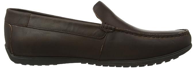 Rockport Bayley Venetian Dark Brown, Mocasines para Hombre: Amazon.es: Zapatos y complementos