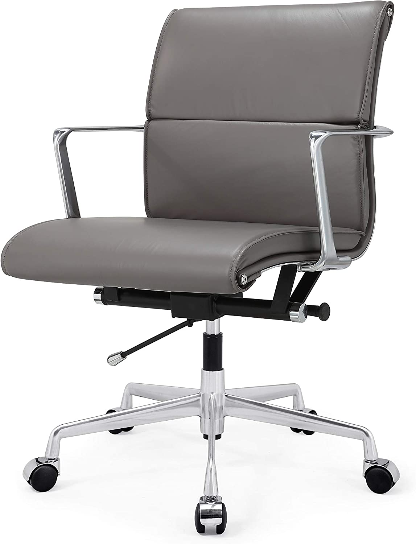 MEELANO M347 Home Office Chair, Grey