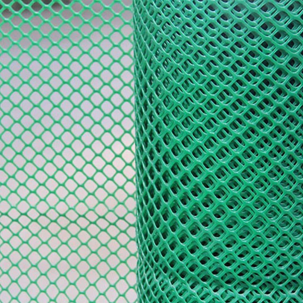子供の安全ネット家庭用階段秋に対するプラスチック製のメッシュ防護ネットとしても使用できますネットグリッド1.8CMネットワーク幅2Mグリーン (サイズ さいず : 2mx10m) B07P31Q4NV  2mx2m 2mx2m