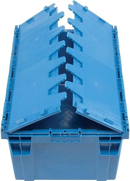 10x 65L BLUE heavy duty Plastic Storage box// container