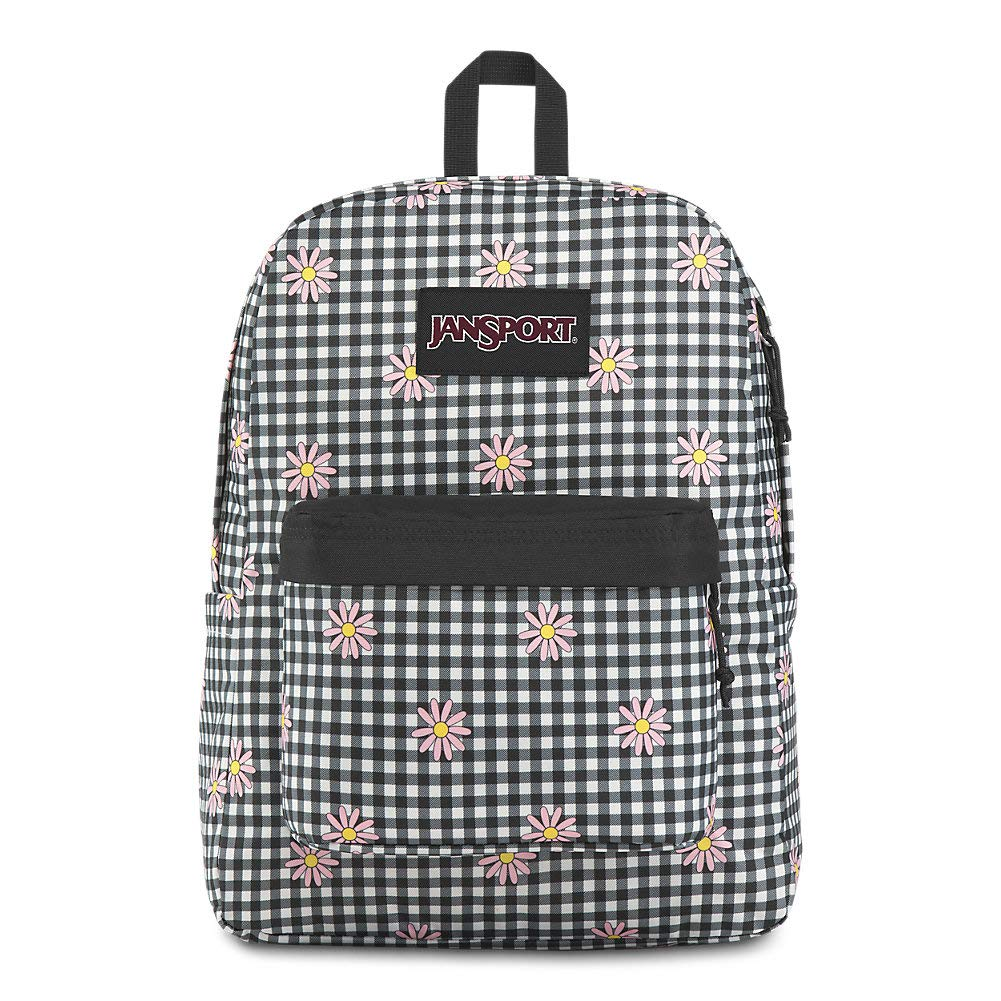 JanSport Ashbury Laptop Backpack - Comfortable School Pack | Gingham Daisy by JanSport