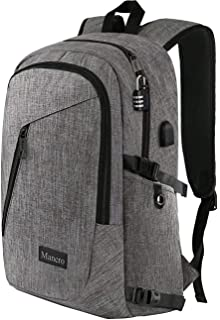 247ce53ac03 Laptop Backpack, Travel Computer Bag for Women   Men, Anti Theft Water  Resistant College