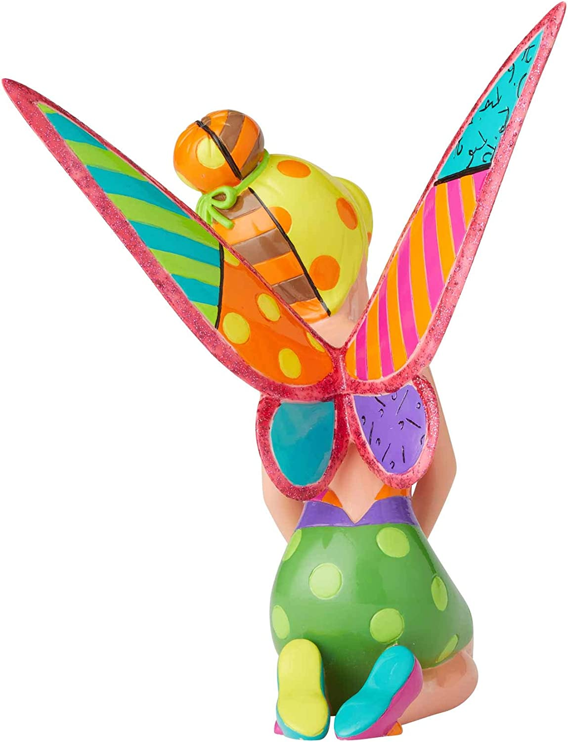 6 Inch Enesco Disney by Britto Peter Pan Tinker Bell Figurine Multicolor,6003344