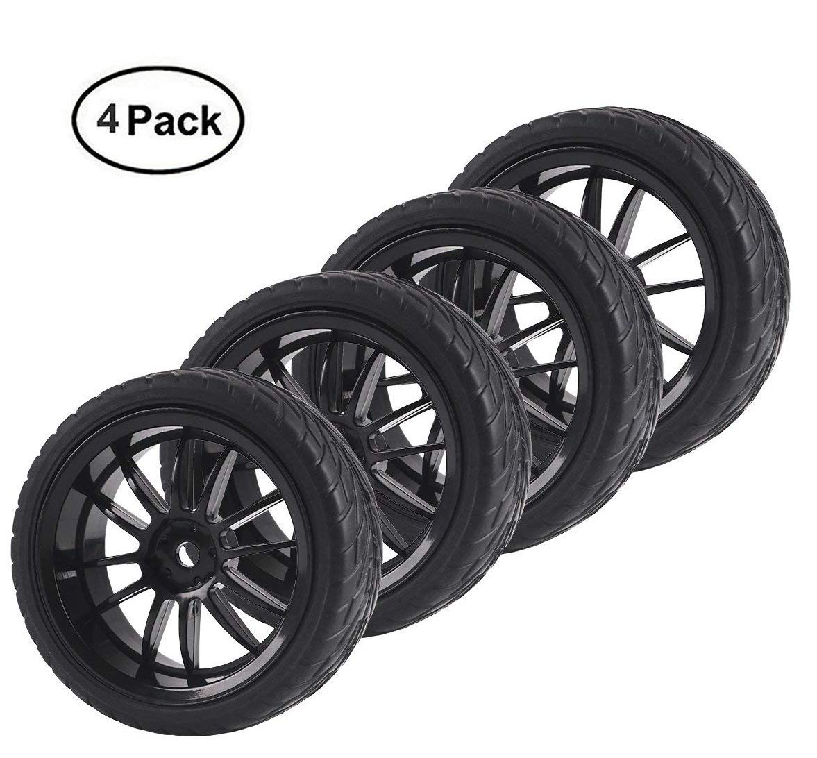 eb052188a6b Online Cheap wholesale Innovateking 12mm Hub RC Wheel Rim Tires for 1/10 RC  On-Road Drifting Car Buggy (Pack of 4) Tire & Wheel Sets Suppliers