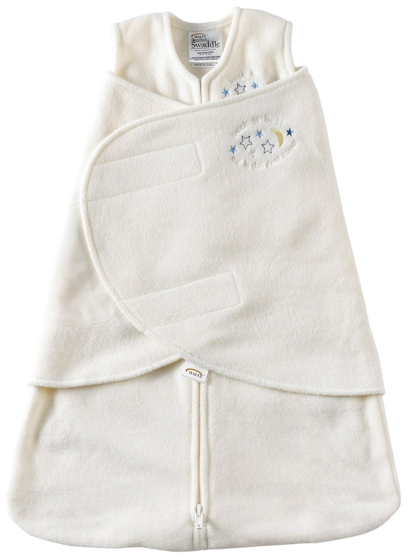 HALO 2155 SleepSack Micro-Fleece Swaddle Small Cream Halo Innovations