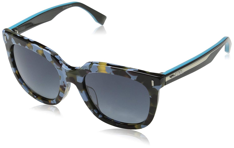 Amazon.com: Fendi FF 0185/S uja-hd Cat Eye Sunglasses Blush ...
