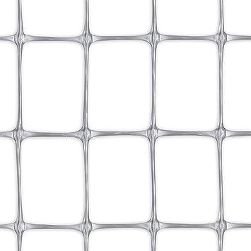 Tenax 06802 Grillage Plastique Gris 1 x 10 m