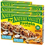 Nature Valley Chewy Granola Bar, Protein, Coconut Almond, 5 Bars - 1.42 Ounce each bar, 7.1 Ounce (Pack of 6)