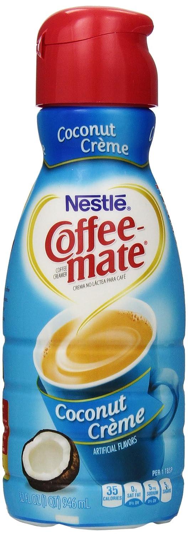 Coffee Mate Coconut Creamer Nutrition - Nutrition Ftempo